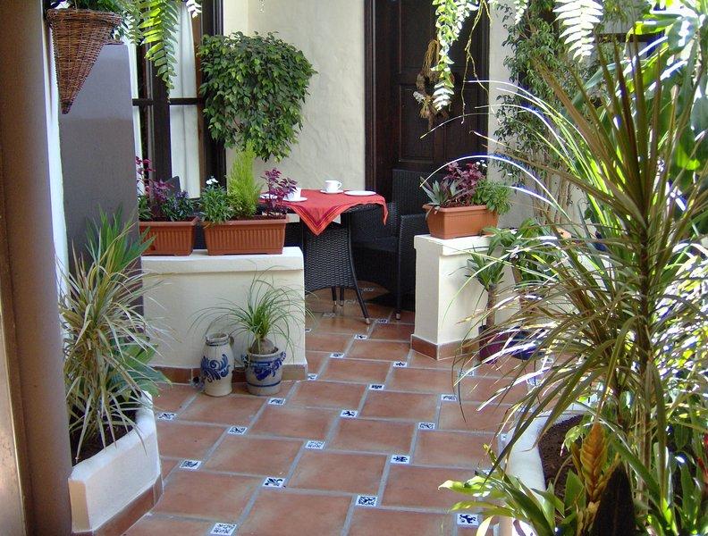 Mediterranean holiday home with small patio-terrace, location de vacances à El Amparo