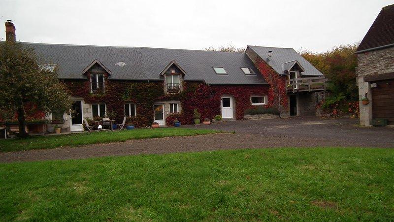 Haras du Vion Livaie Fontenai sur Orne, holiday rental in Chailloue