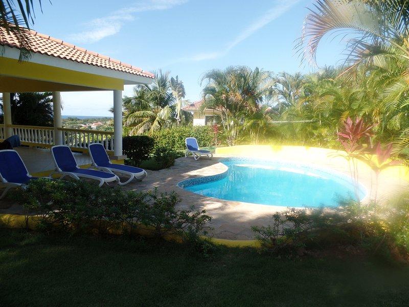 villa de 4 habitaciones en renta sosua republica dominicana, vacation rental in Sosua