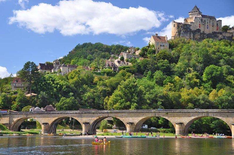 Canoë-kayak sur la rivière Dordogne