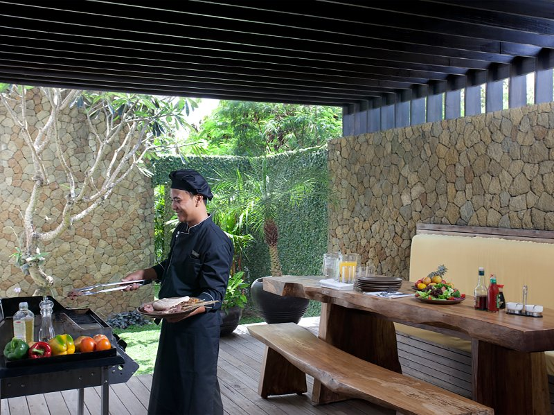 Villa Hana - BBQ facilities