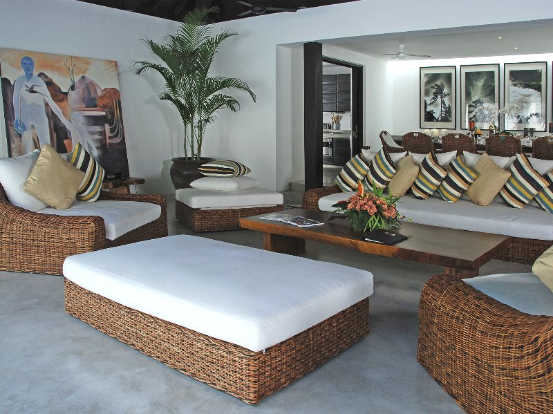 Villa Hana - Living room