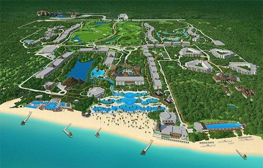 Mappa del Resort