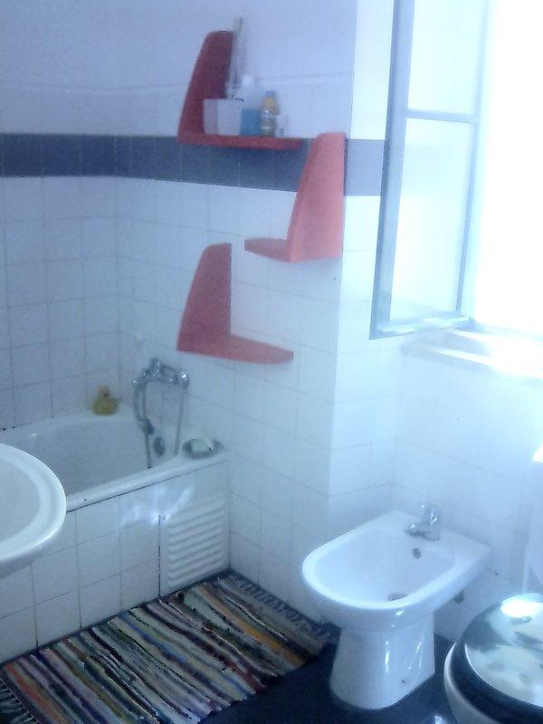 WC with bathtub