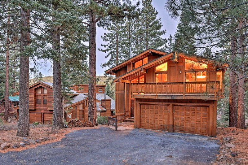 Find your next home-away-from-home at this incredible cabin on the Truckee mountainside!