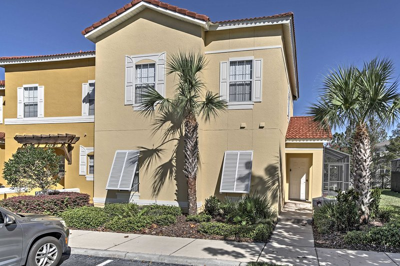 This spacious Kissimmee oasis is about 15 minutes from Walt Disney World.
