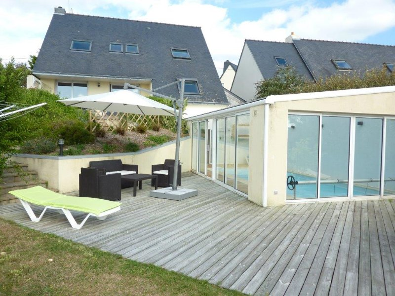 Kerhermain Villa Sleeps 9 with Pool and WiFi - 5822338, holiday rental in Port-Manech