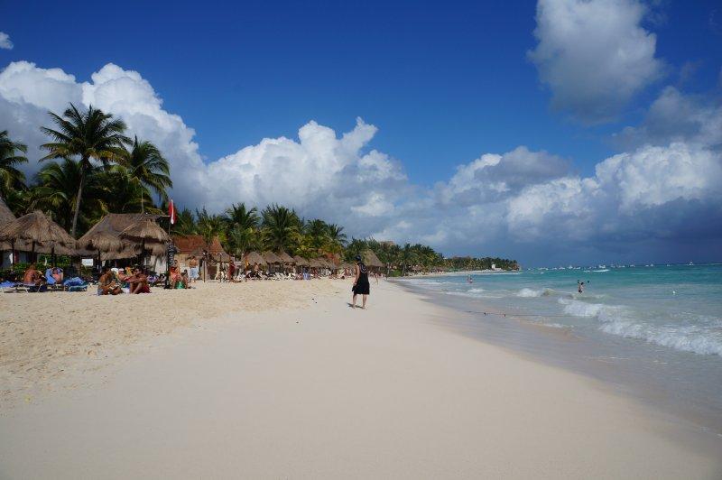 Strand in Playa del Carmen