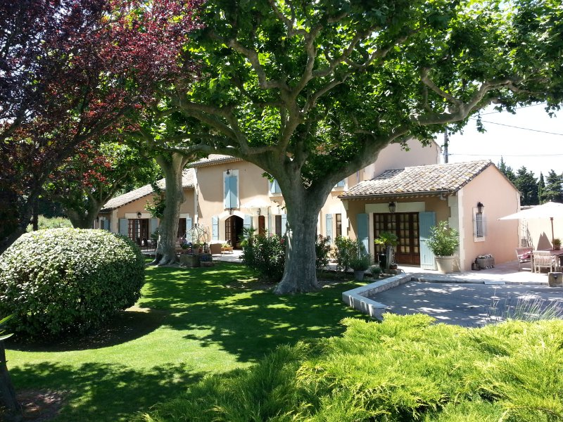 Stunning Provencal Mas in the heart of Provence in between St Remy and Avignon, location de vacances à Cabannes