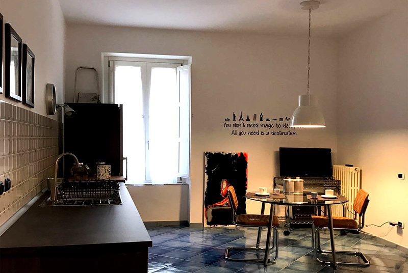 Salerno Flat lägenhet Almi Suite | Kök