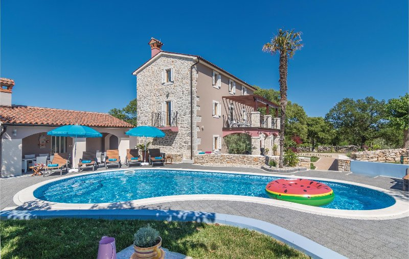 Stunning home in Nedescina with Sauna, WiFi and 6 Bedrooms (CIO096), holiday rental in Vozilici