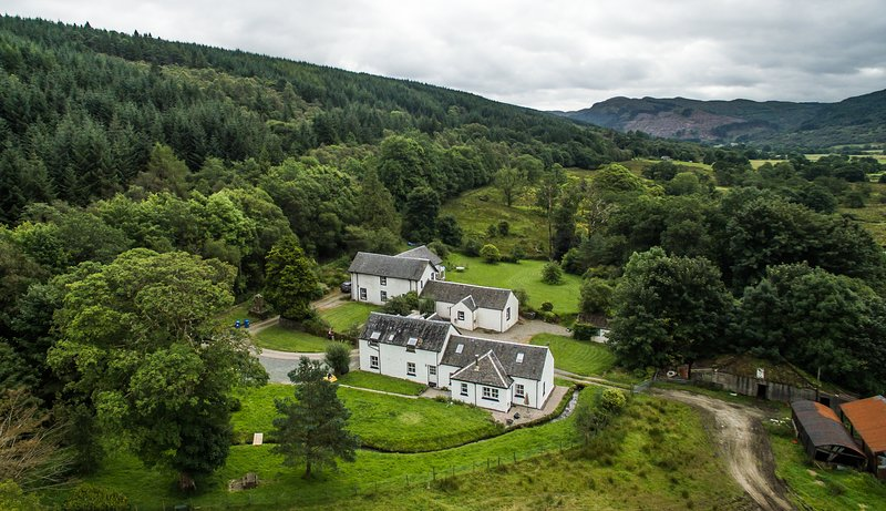 View from above the glen