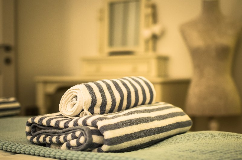 Towels and linens included