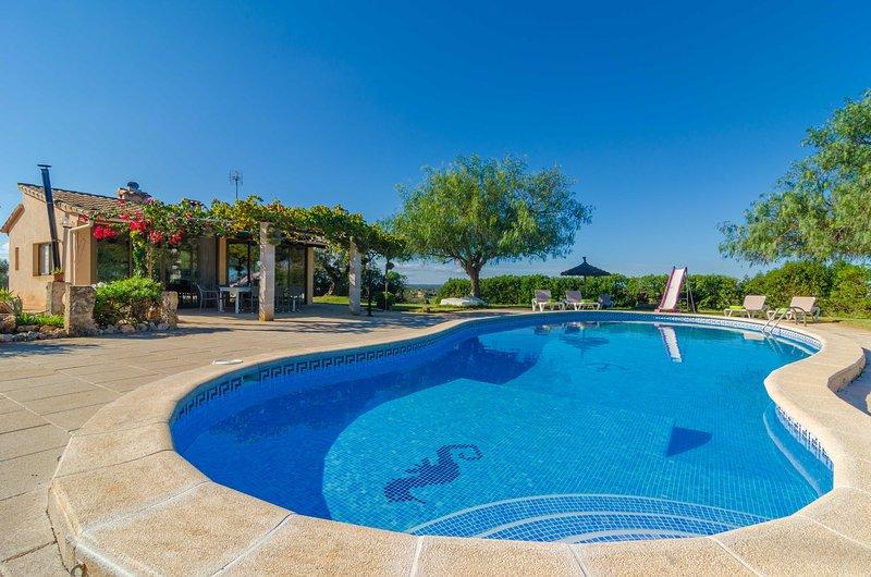 CAN NADAL (FINCA CAN NADAL) - Villa for 10 people in Campos, alquiler de vacaciones en Campos