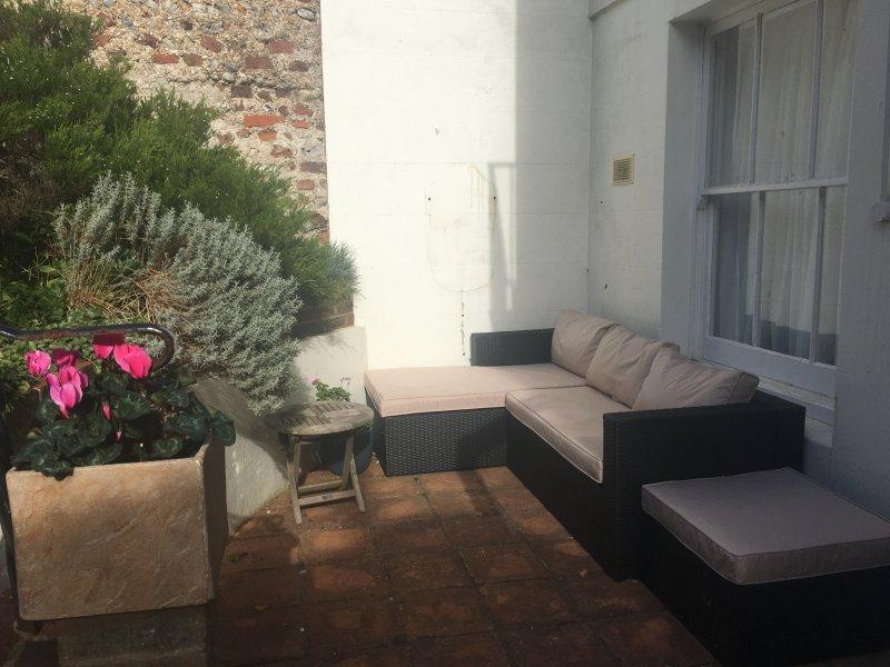 Summer outdoor furniture