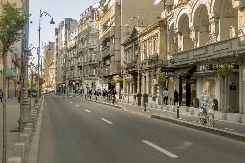Calea Victoriei, jour