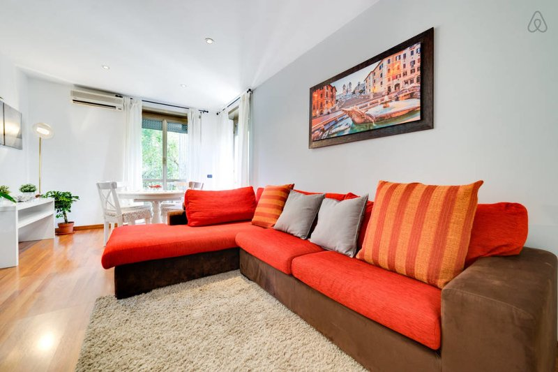 Comfortable 2 bed flat w/Parking - Marconi Chalet in Rome