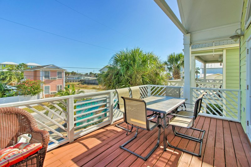 Escape to Panama City Beach to stay at this beautiful vacation rental.