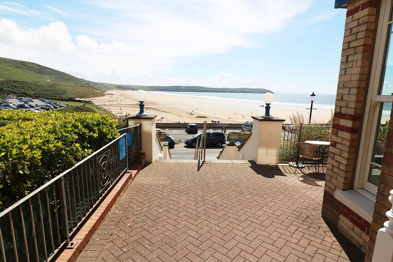 Hartland House Apartments Woolacombe Holiday Cottage Front Door View
