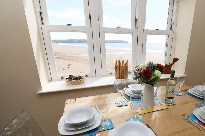 Hartland Heights Woolacombe Holiday Cottage View
