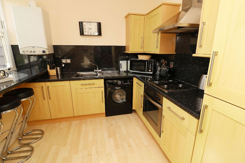 Hartland Heights Woolacombe Holiday Cottage Full Kitchen