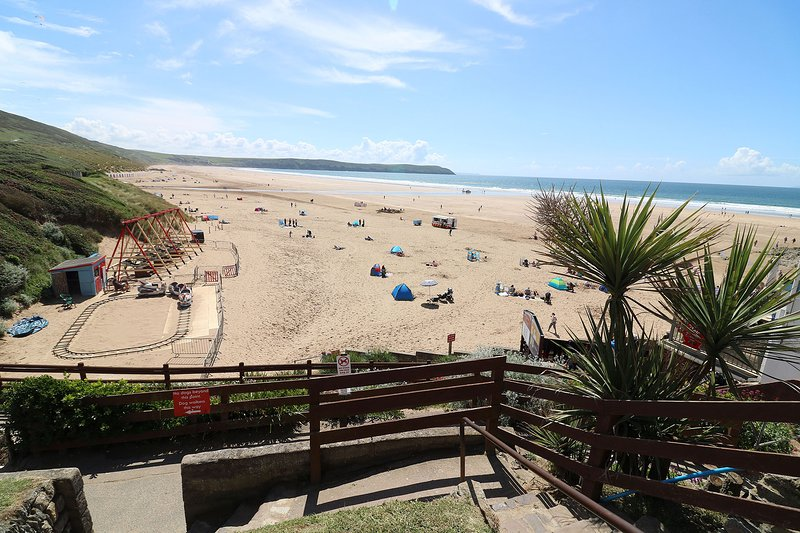 Hartland House Apartments Woolacombe Holiday Cottage Woolacombe Beach And Sea