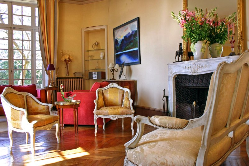 Lombron Chateau Sleeps 15 with Pool and Air Con - 5049817, holiday rental in Nogent Le Bernard