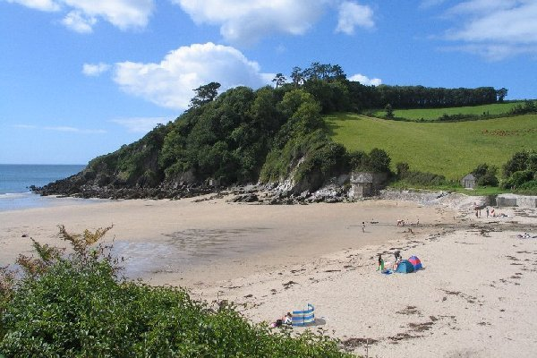 Mothercombe beach