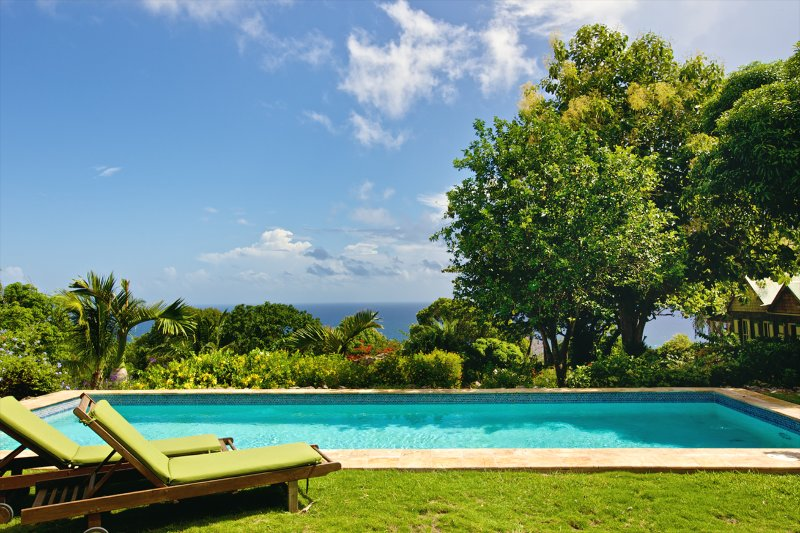 Historic Sea View Plantation with House &  Cottage, vacation rental in Nevis