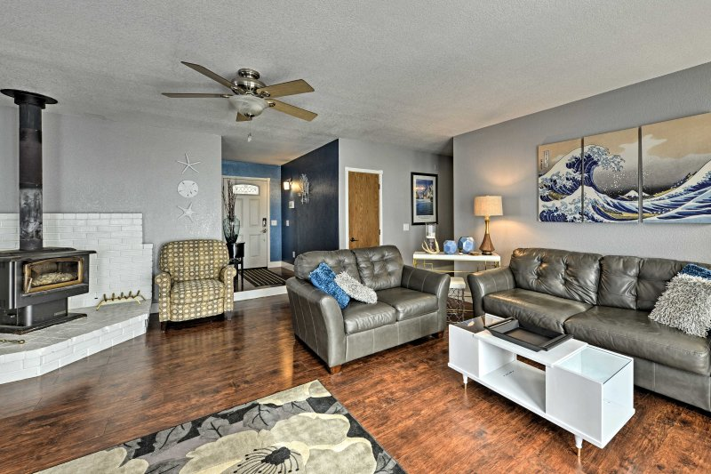 The home boasts 1,700 square feet with 4 bedrooms and 2 full bathrooms.