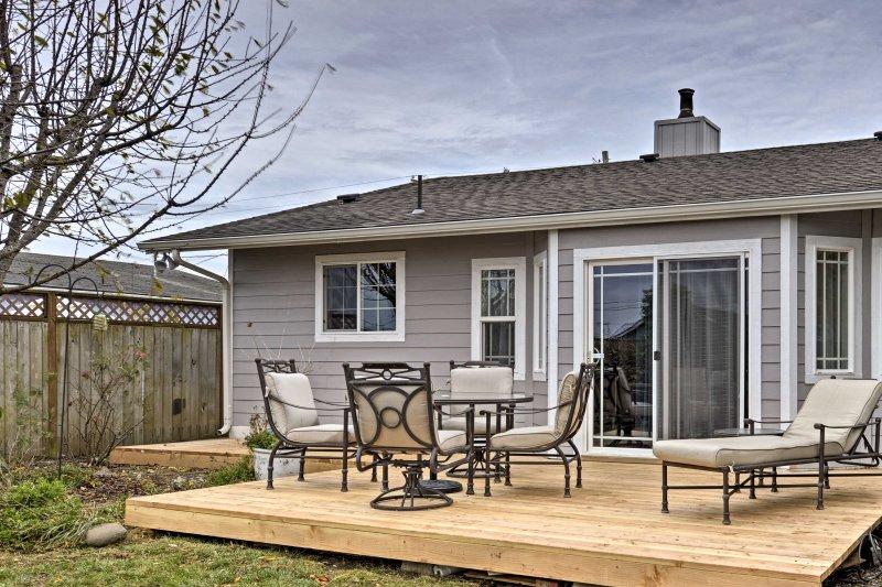Descubre la costa norte de California de esta encantadora casa de vacaciones en Crescent City!