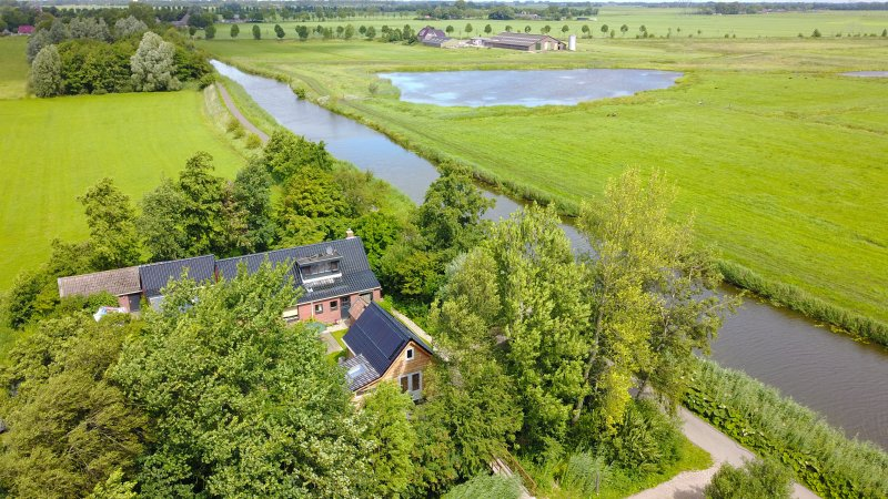 Beautiful and tasteful wooden ecolodge in the Groningen countryside, location de vacances à Lettelbert