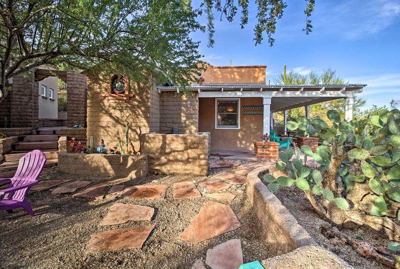 Trova la serenità in questa 1-camera da letto, 1 bagno-casa per le vacanze a Tucson!