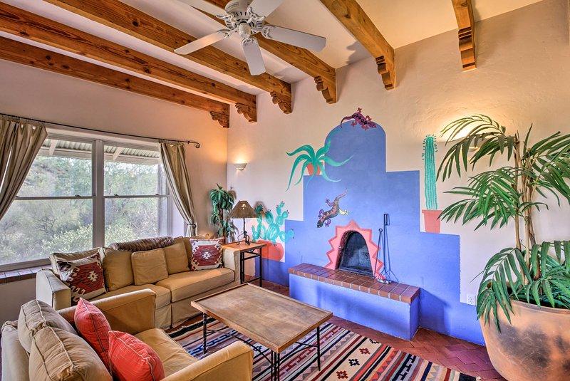 'El Diamonte' bietet eine 1-Schlafzimmer, 1-Bad Ferienwohnung Rückzug.