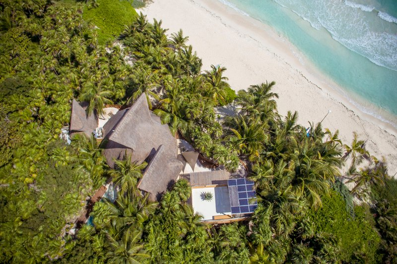 Casa Nalum - Luxury Beachfront Villa, vacation rental in Punta Allen