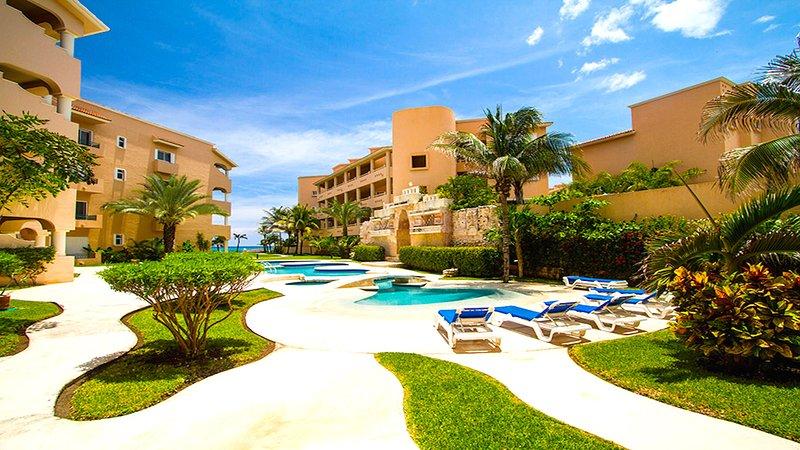 Riviera Maya Haciendas, Casa Dina - Spiaggia fronte piscina