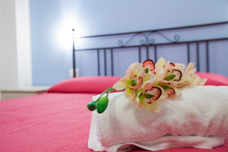 Camera Marettimo l'eleganza di un albergo il calore di una famiglia