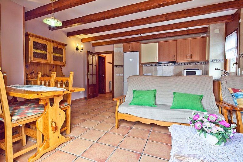 Salardu centro apartamento 3 habitaciones., holiday rental in Unha