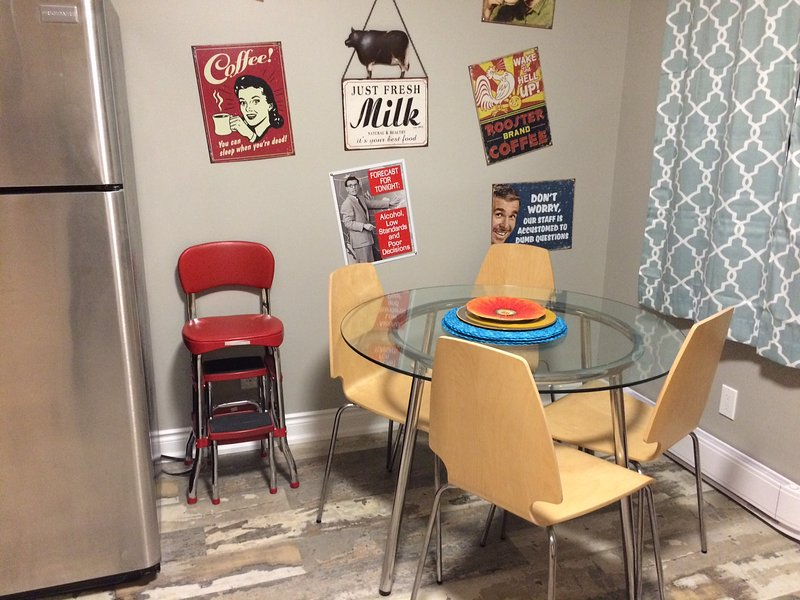 Spaß in der Küche essen Sitze vier leicht.