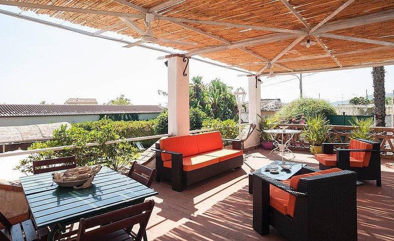 Santa Tecla Holiday Home Sleeps 7 with Air Con - 5487043, vacation rental in Villa Petrosa