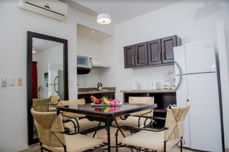 Villa Vera Puerto Vallarta Cuisine avec salle à manger