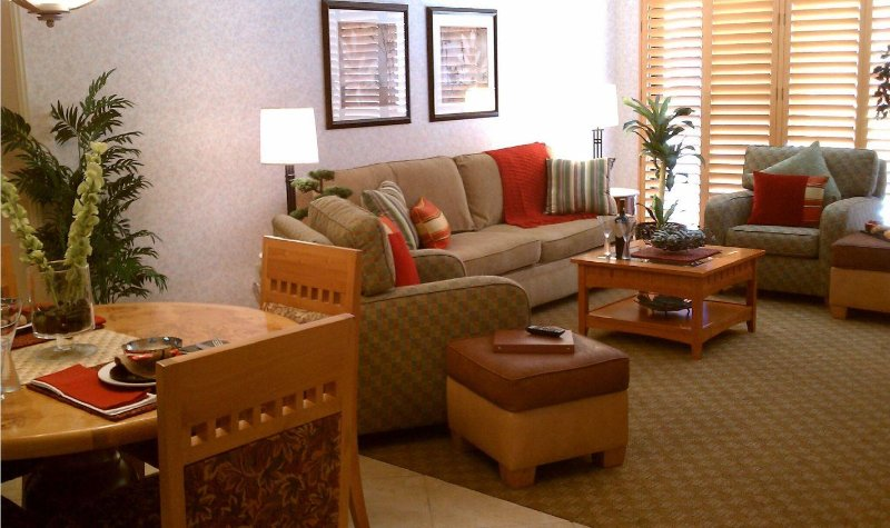 Welk Resort Villas Living Area
