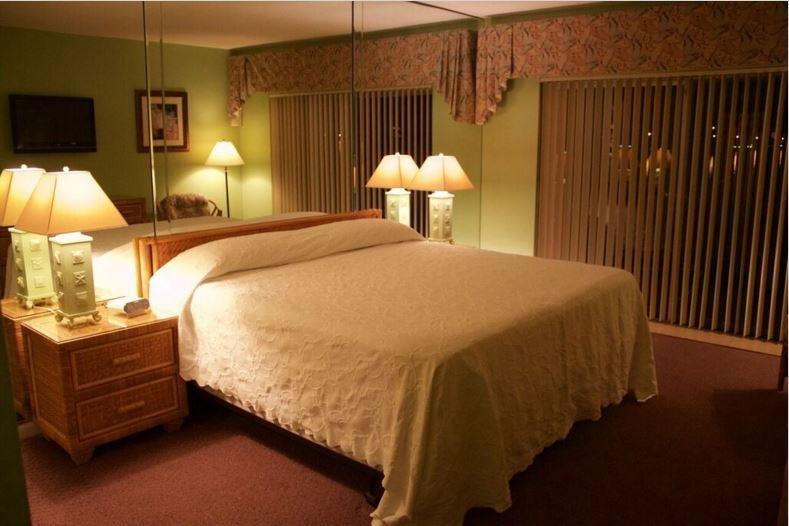 Palm Beach dormitorio principal de visión nocturna