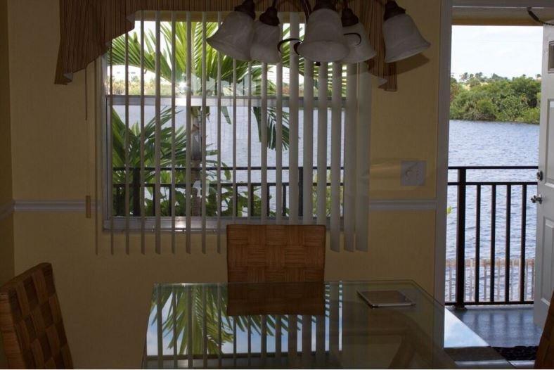 Zona de comedor Palm Beach