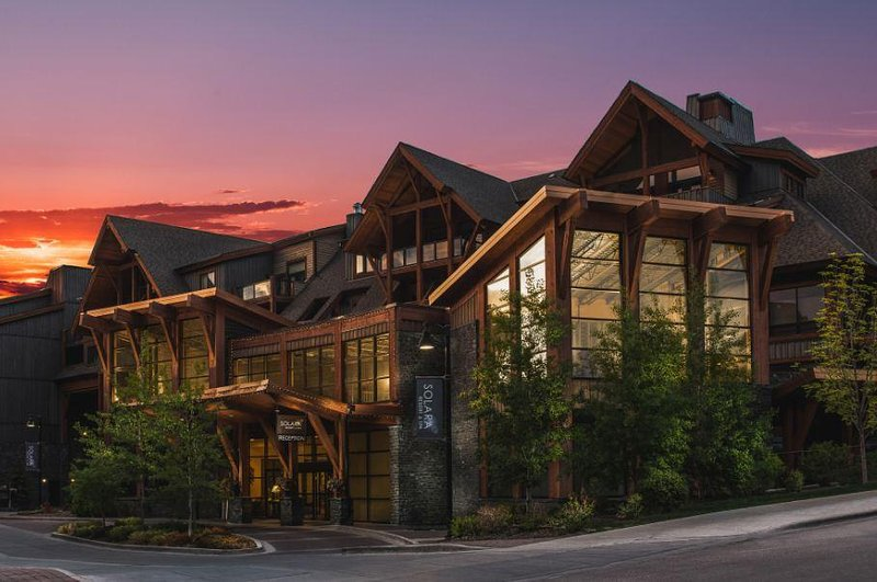 Solara Resort and Spa Exterior Night View