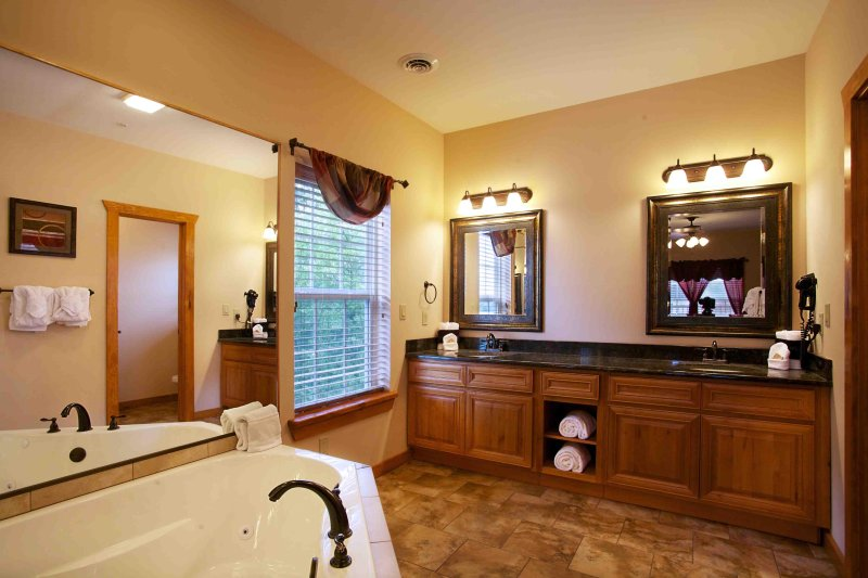 The Lodges at the Great Smoky Mountains Bathroom Two Bedroom