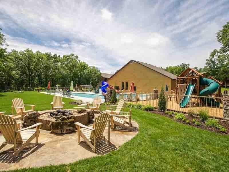 The Lodges at Table Rock Lake Servizi Panoramica due camere da letto Villa