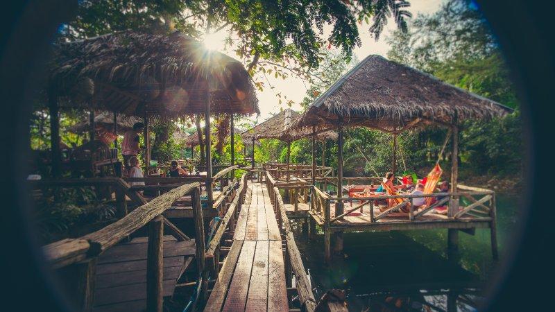 Bungalow on lagoon, casa vacanza a Ban Kai Bae