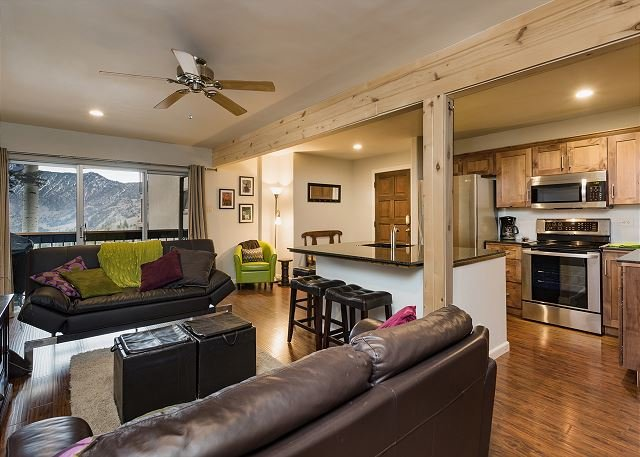 Completely Remodeled Ski in/Ski Out condo - Amazing Views and Great Deck, holiday rental in Durango Mountain