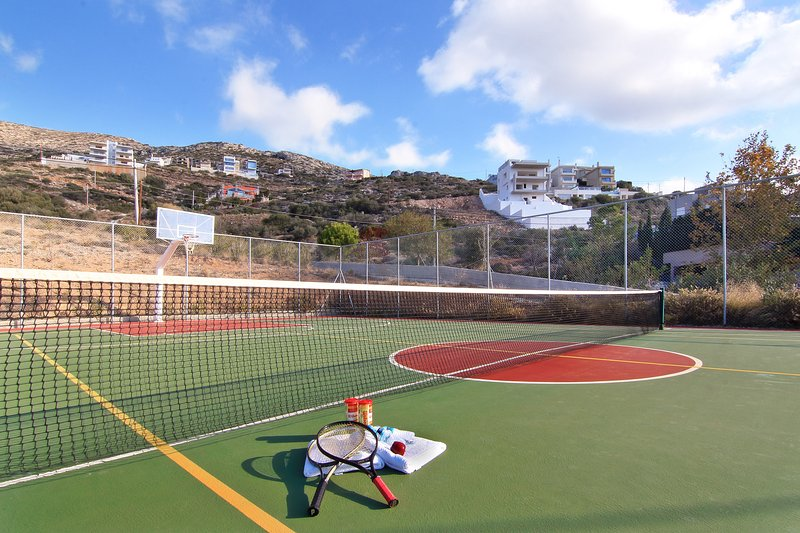 Tennis - Terrain de basket